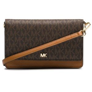 Michael Kors Pebbled Leather Convertible Crossbody